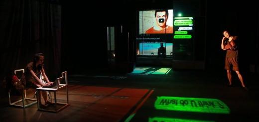 第26屆澳門藝術節《人在她城》  (相片由卓劇場藝術會  攝影:林俊熠)