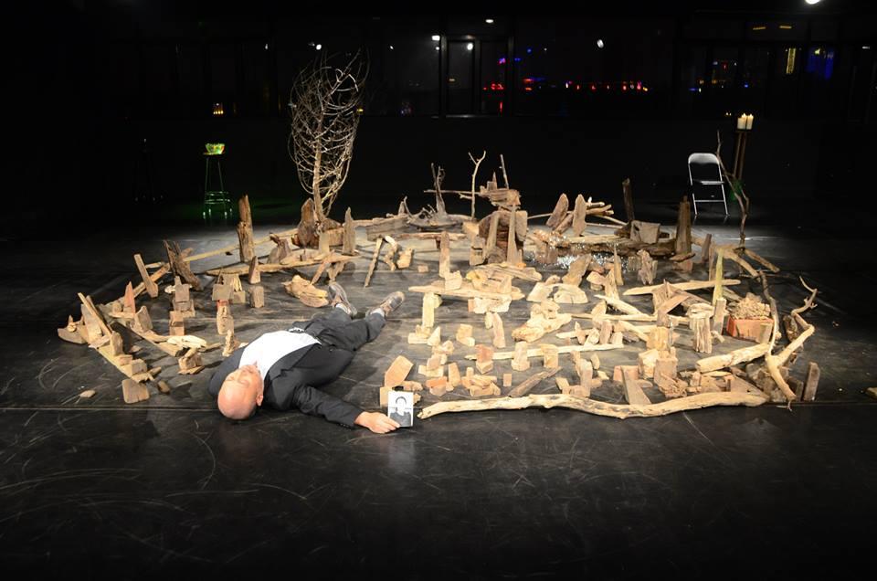 《劇場搏劇場》-裝置現場:《今天過得好》  (照片由自家劇場提供)