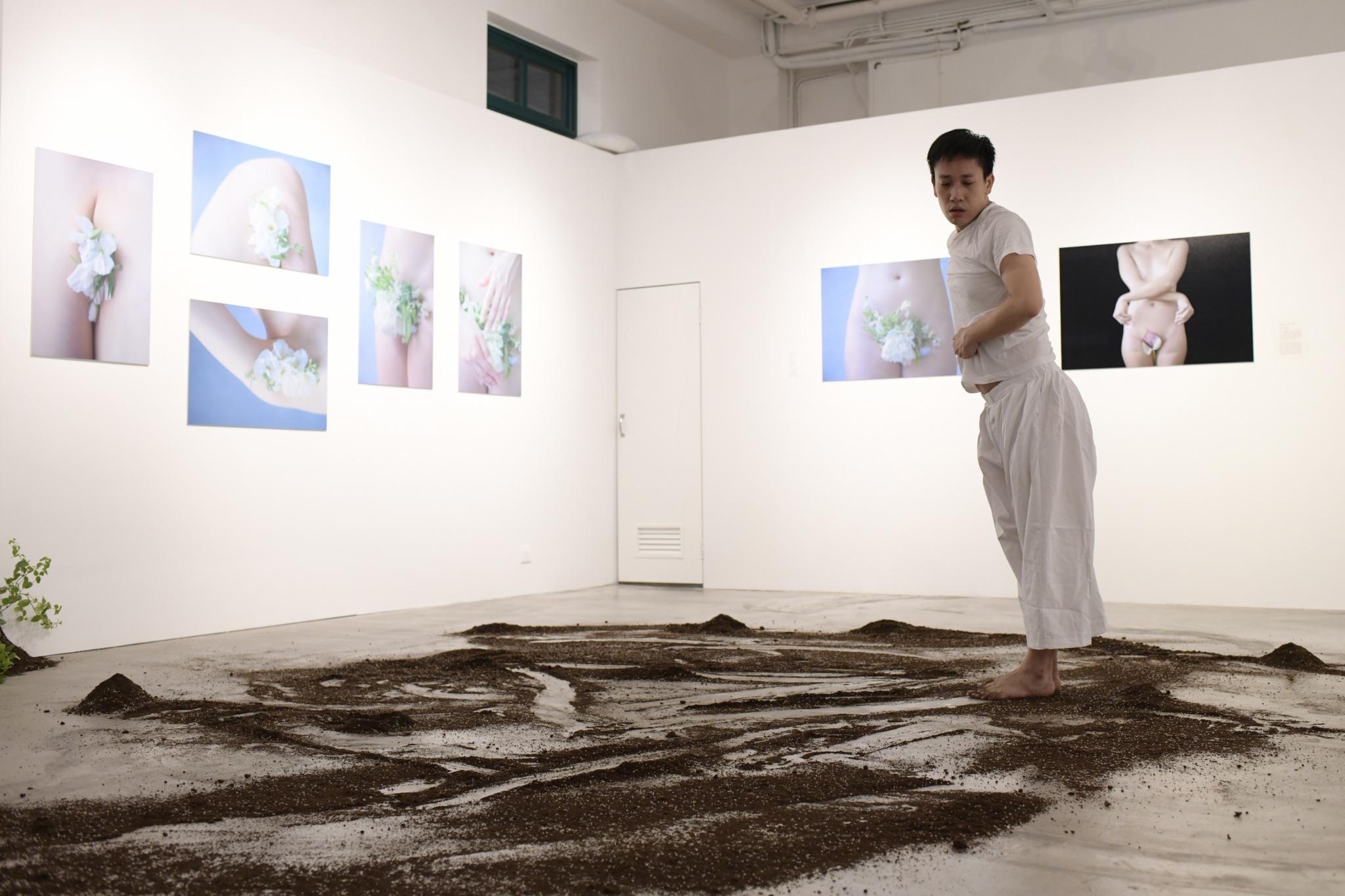 《靜默》演出相片(劇照由風盒子社區藝術發展協會提供,攝影:Odia)