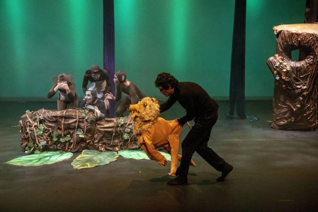 《神奇森林歷險記》演出照片(劇照由澳門基金會提供)