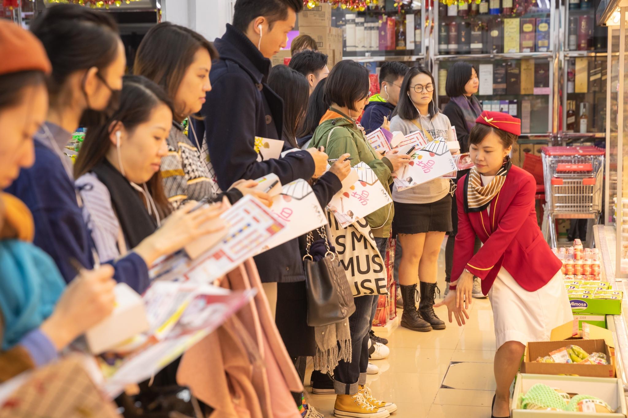 《人人超級市場》演出相片(劇照由澳門文化局提供)