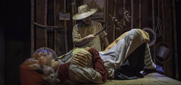 《海盜婆》演出照(劇照由澳門基金會提供 )