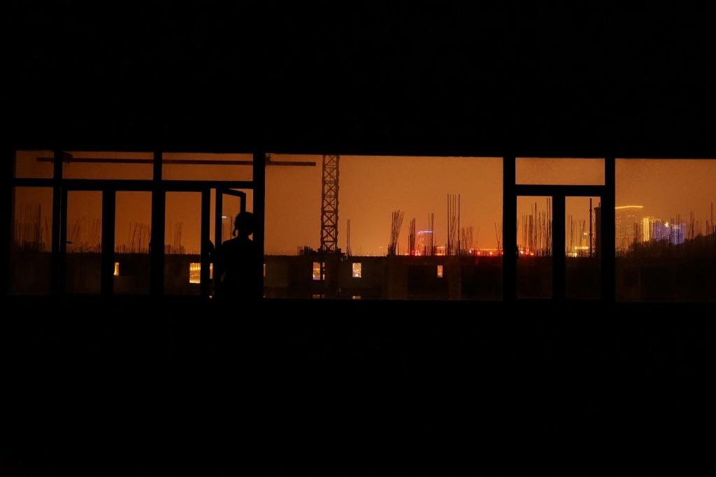 《劇場搏劇場》-裝置現場:《城市鏡像》  (照片由自家劇場提供)