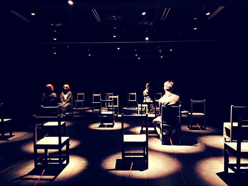 《劇場搏劇場》-裝置現場:《P的鏡子》  (照片由自家劇場提供)