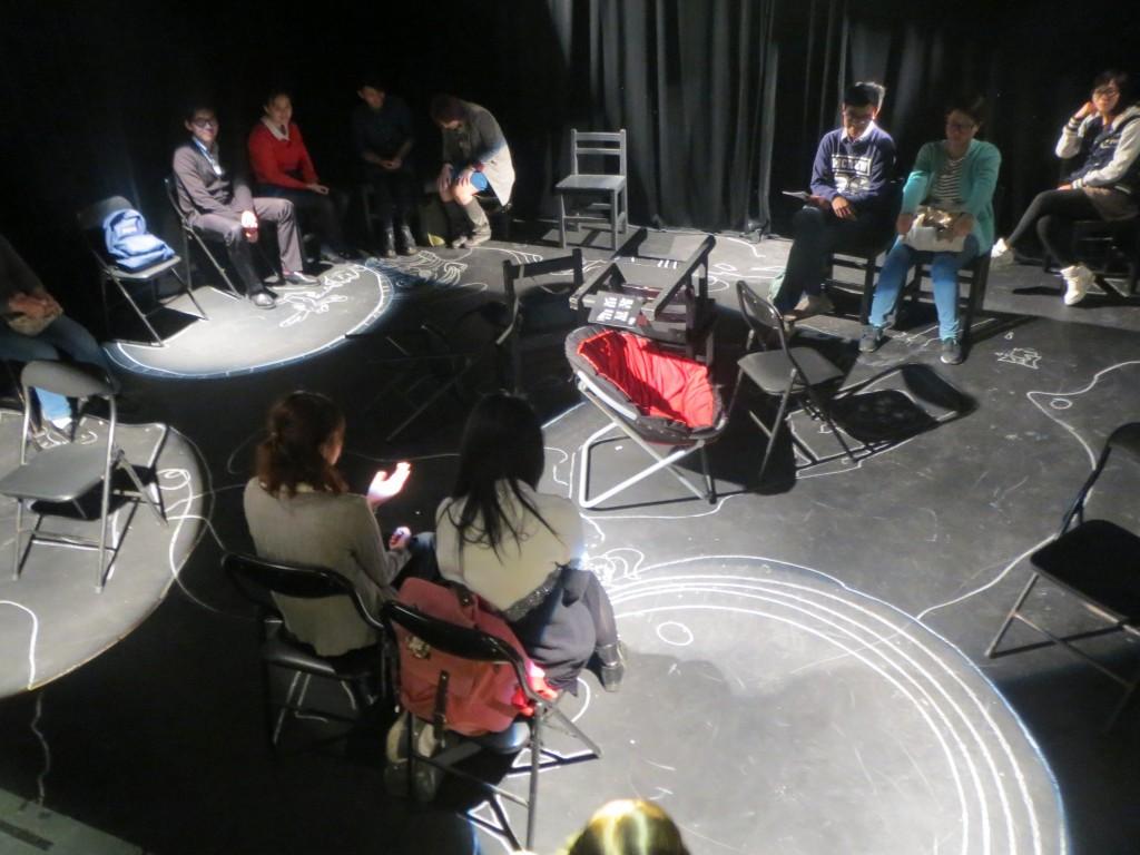 《劇場搏劇場》-裝置現場:《置身》  (照片由自家劇場提供)