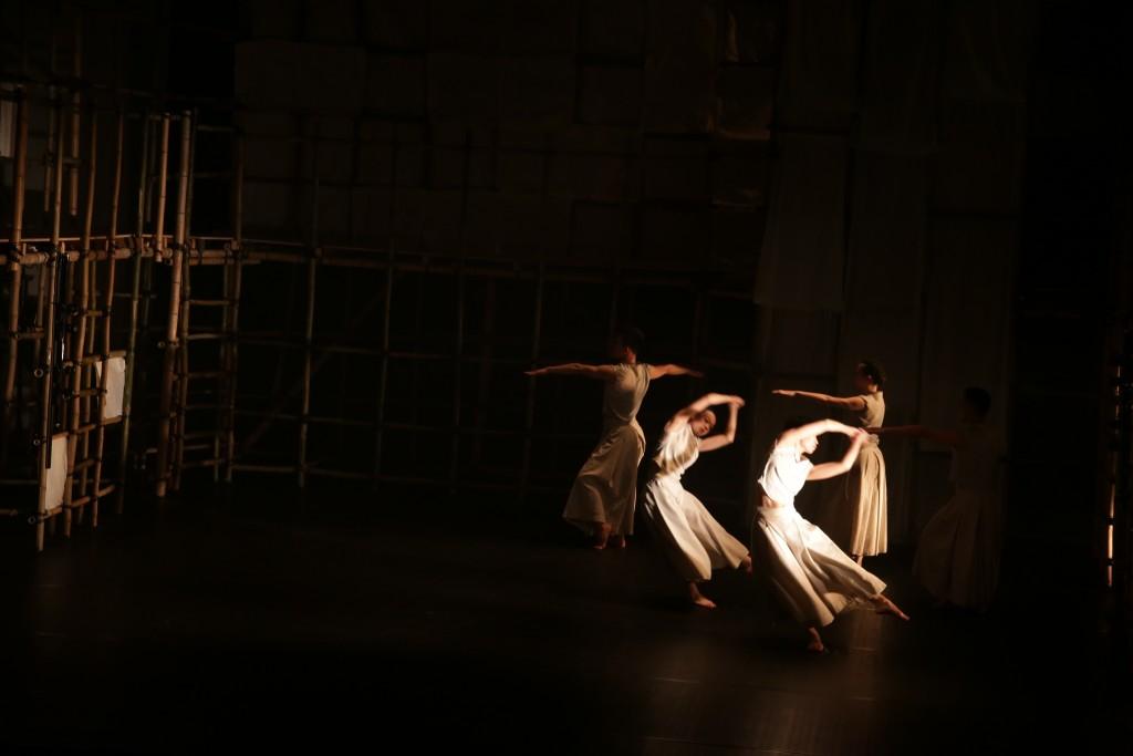《記憶藍圖II》(相片由梳打埠實驗工場藝術協會提供  攝影 : 冬)
