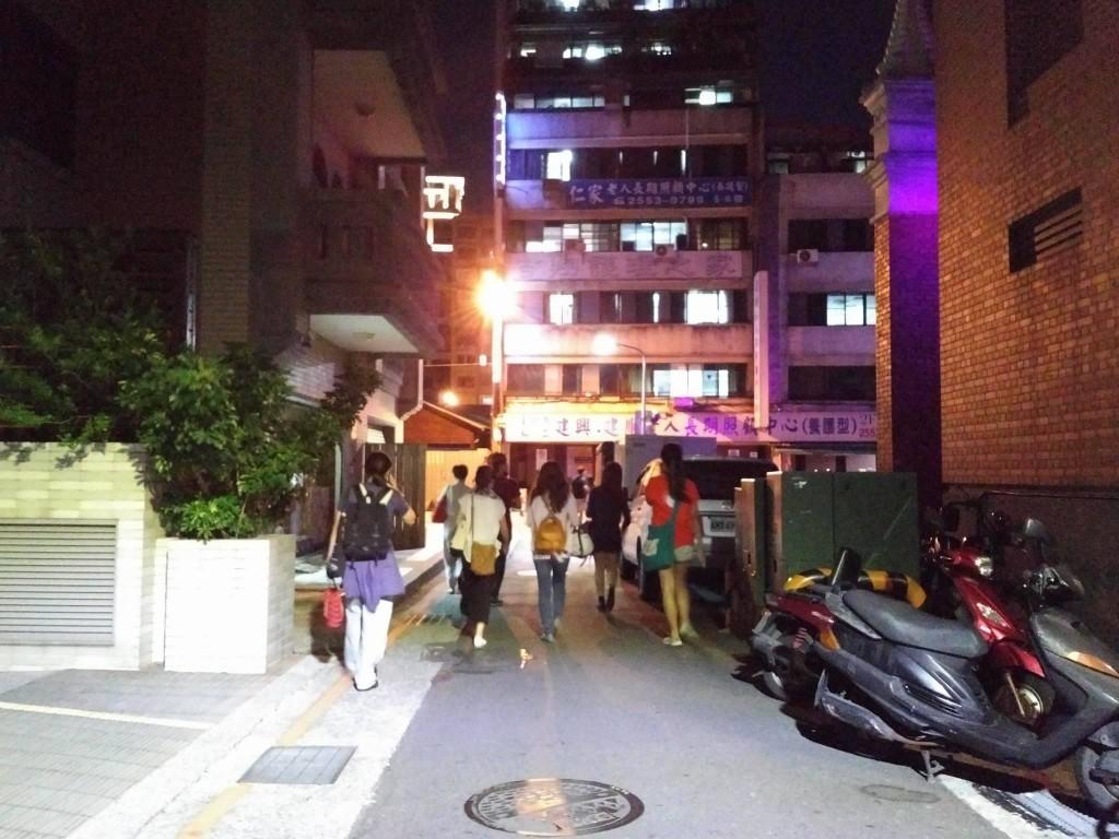 「超親密小戲節」古亭區(相片由作者提供)