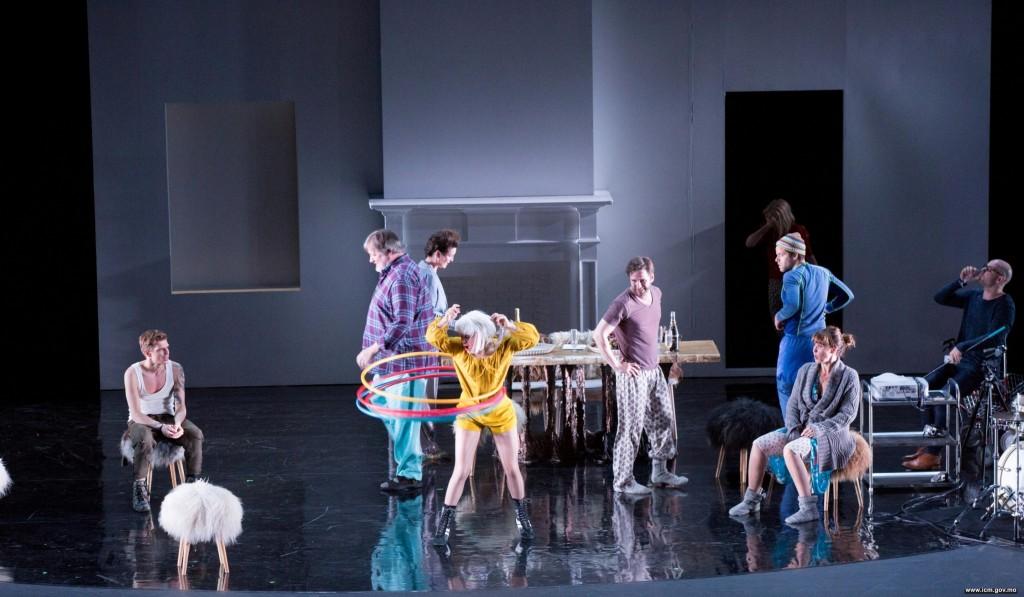 第二十八屆澳門藝術節《海鷗》│ 雷克雅未克城市劇場(冰島)(圖片由文化局提供)